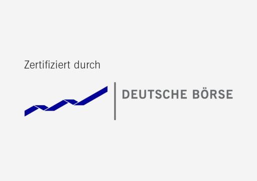 Zertifiziert von Deutsche Börse